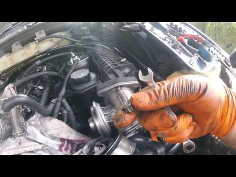 Как снять впускной коллектор Mercedes Ml 270 Cdi