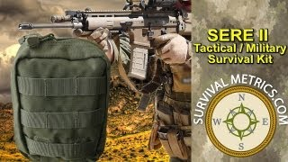 Escape And Evade Sere Ii Tactical Military Survival Kit