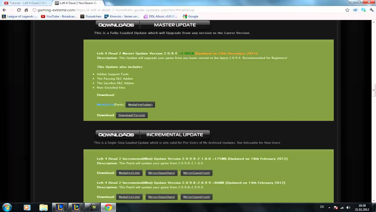Game updater by durka left 4 dead 2 updating