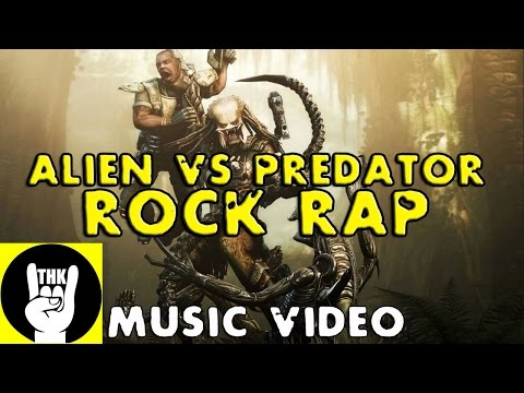 ALIENS VS PREDATOR RAP | TEAMHEADKICK