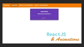 ReactJS & CSS Animations Basics - #2 CSS Animation Basics
