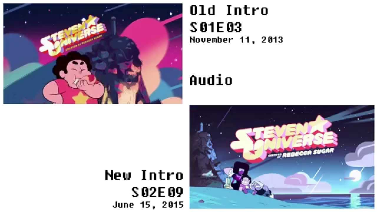 Steven Universe Intro Comparison Old Vs New Youtube