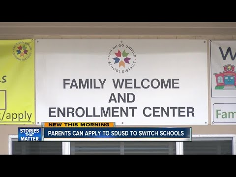 Applications Open To Switch SDUSD Schools