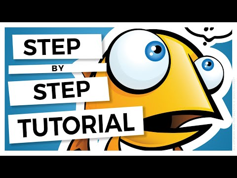 Adobe Illustrator Cartoon Tutorial: Advanced Coloring in Illustrator