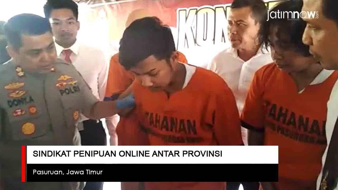 Video Polisi Bongkar Sindikat Penipuan Online Antar Provinsi