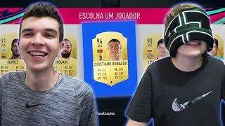 DESAFIO DRAFT CEGO NO DRAFT FIFA 19 X MEU IRMÃO!!! ELE ADIVINHOU TUDO!!!