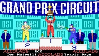 Grand Prix Circuit (PC/DOS) 1988, Accolade ,DSI