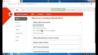 Unlock / Decode Vodafone R218h 4G MiFi