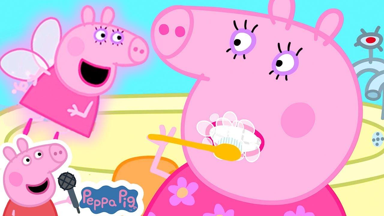 Brush Your Teeth Song with Peppa Pig | Incy Wincy Spider | More Nursery Rhymes & Kids Songs