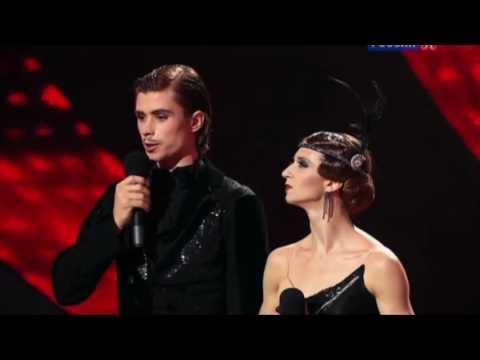 Anna Tikhomirova and Artem Ovcharenko in Golden Age, 11.11.2012 Culture Channel Bolshoi Ballet