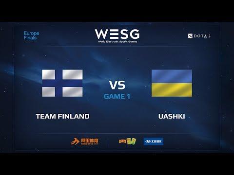 Team Finland против UAshki, Первая карта, WESG 2017 Dota 2 European Qualifier Finals