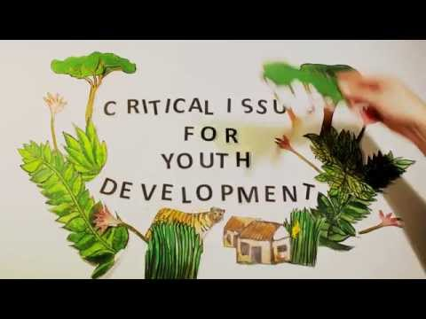 Simple animated video: The impacts of climate change for youth and children