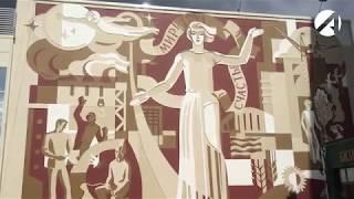 Искусство сграффито. В Астраханской области почти не осталось объектов советского стрит-арта.