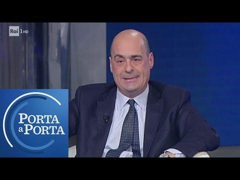 Primarie PD: le nuove proposte di Nicola Zingaretti - Porta a porta 27/02/2019