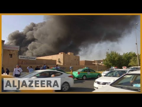 🇮🇶 Large fire at warehouse for ballots from disputed Iraqi election | Al Jazeera English