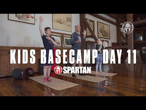 Take the Pledge for Spartan Kids B.A.S.E. Camp Day 11 | Unbreakable TV
