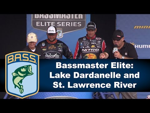 Bassmaster Elite: Lake Dardanelle and St. Lawrence River 2017
