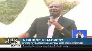 DP Ruto accuses Raila of hijacking BBI conversation