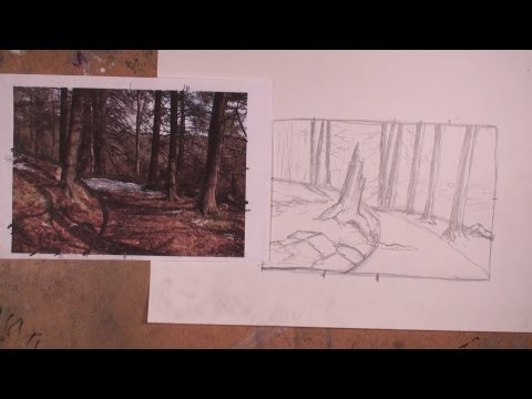 How to start a Landscape Sketch