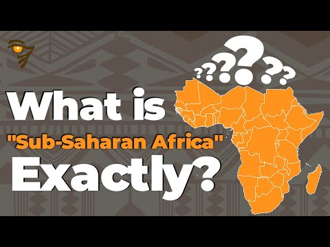 What is 'Sub-Saharan Africa' Exactly?