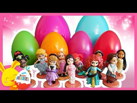 Oeufs surprises Disney Princesses - Belle, Mulan, Raiponce - Tounitoys - Titounis