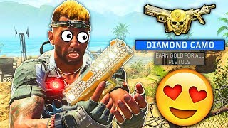 DIAMOND PISTOLS unlocked in Black Ops 4! Diamond Camo Secondaries! (BO4 Pistols)