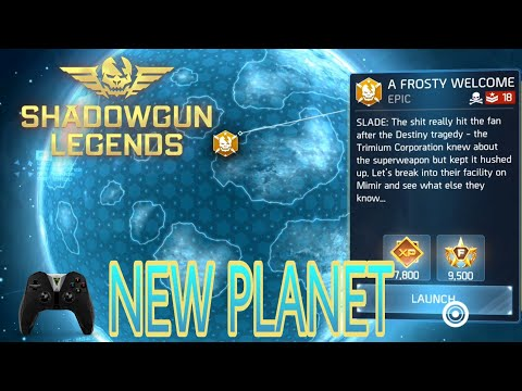 Shadowgun Legends - A Frosty Welcome (NEW PLANET)