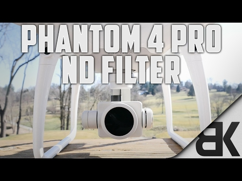 DJI Phantom 4 Pro ND Filter (Quality Comparison)
