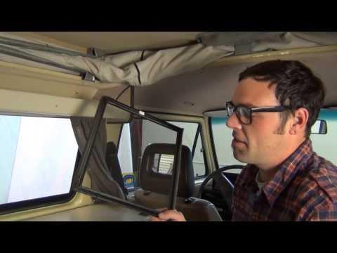 GoWesty : Sliding Window Screen (LH/RH) Vanagon Westfalia
