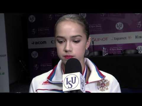 Alina Zagitova RUS Free PGM Interview - Marseille 2016