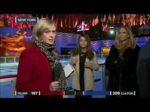 Ann Coulter and Kristen Tate STAND UP to Liberal ITV Reporter