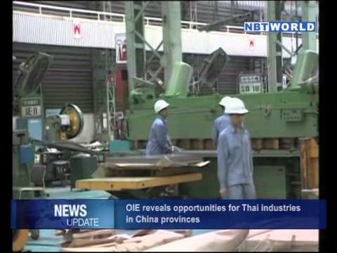 OIE Reveals Opportunities for Thai Industries in China Provinces
