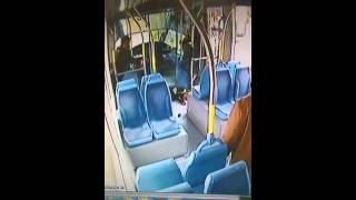 Terror attack at Jerusalem light rail caught on tape