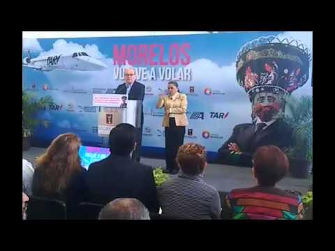 Morelos vuelve al mapa aéreo del país