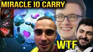 MIRACLE IO CARRY - Team Liquid GG Line Up Pub Rank Dota 2