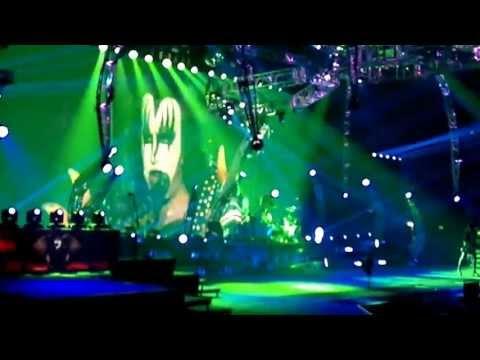 KISS MONSTER TOUR MILAN 18-06-2013 PART TWO