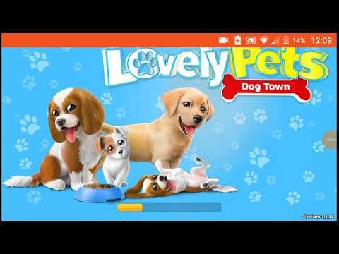 Lovely pets Dog town gameplay - YouTube