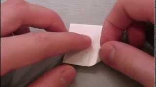 Оригами кусудамы: Мяч-шип