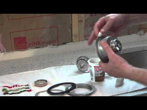 How to Install a Kitchen Sink Basket Strainer