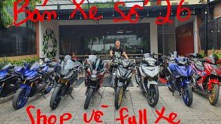 Bán Xe 26 : Ex150 , Ex155 , Winner , Z1 ,  Z8 , R15 , Gsx R150   Tài Pô Độ