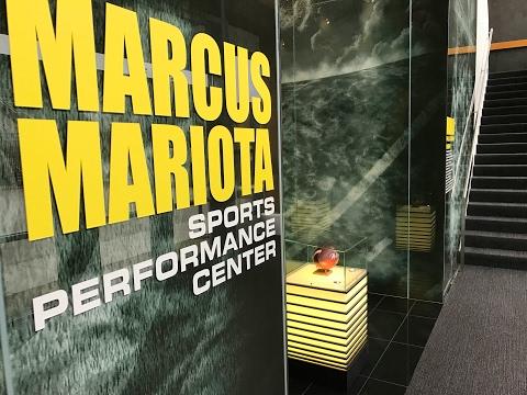 Check out Oregon Ducks' Marcus Mariota Sports Performance Center