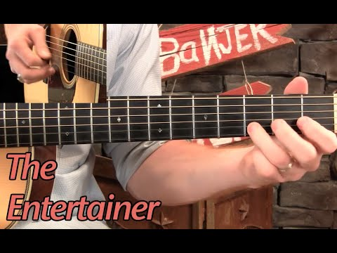 """Learn to Play """"The Entertainer"""" on Guitar!"""