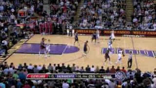 Cavaliers vs Kings Highlights March 13, 2009