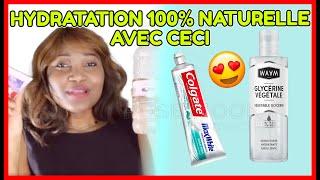 Voici comment utiliser la glycérine et le dentifrice pour une hydratation intense