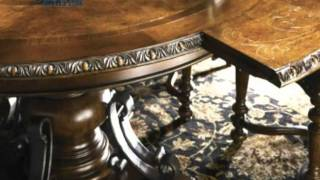 Universal Bolero Round Dining Room