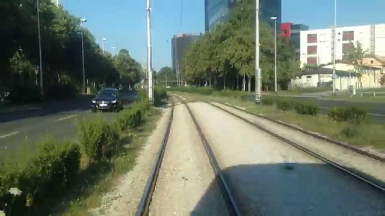 Zet Zagreb Tram Linie 2 Savisce Crnomerec Youtube