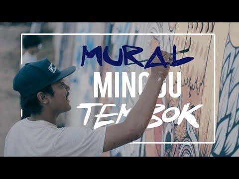 Mural Minggu Tembok - Medan Indonesia