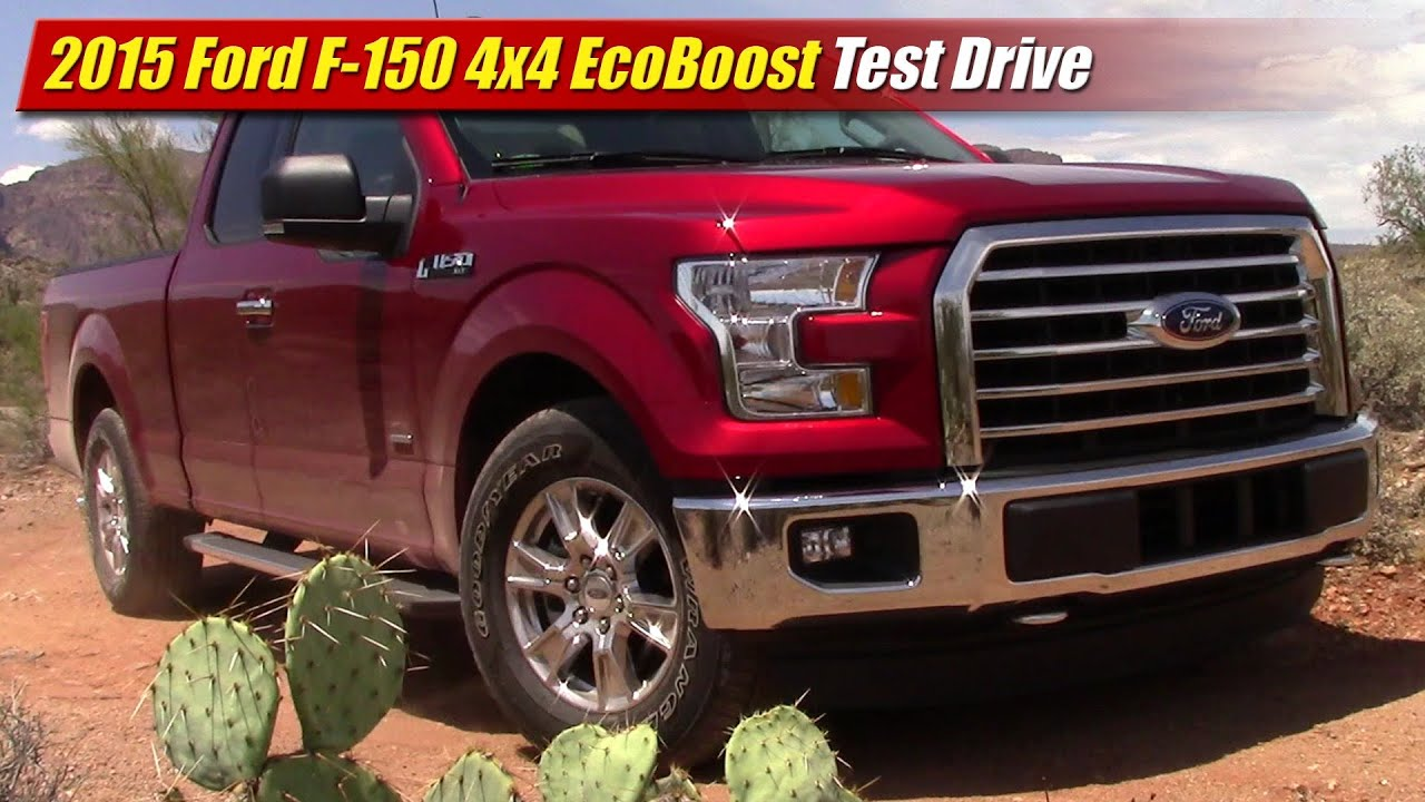 2015 ford f 150 ecoboost 4x4 test drive youtube. Black Bedroom Furniture Sets. Home Design Ideas