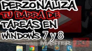 Como Cambiar Los Iconos De La Barra De Tareas En Windows 7 y 8 + Pack De Iconos Q-OOB