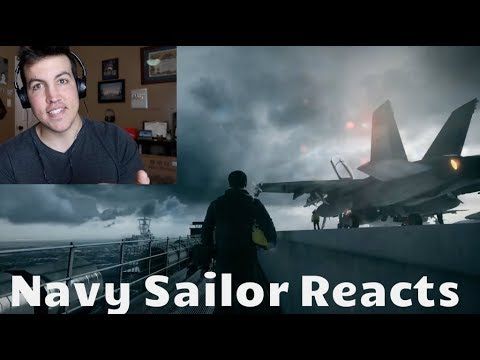 Navy Veteran REACTS to Battlefield 3 Aircraft Carrier Mission
